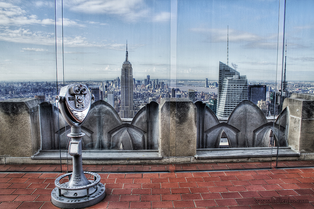 Top Of The Rock Observation Deck Manhattan Ny
